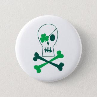 Badge Rond 5 Cm Pirate du jour de St Patrick
