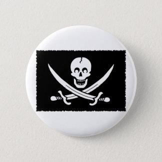 Badge Rond 5 Cm PirateLife, bouton