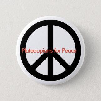 Badge Rond 5 Cm Plateaupians pour le bouton de paix