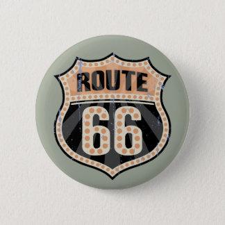 Badge Rond 5 Cm Point -717 de l'itinéraire 66