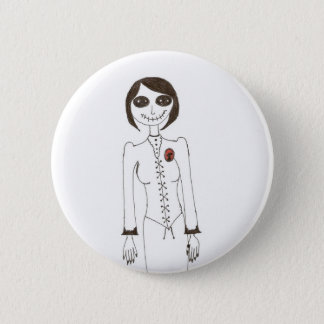 Badge Rond 5 Cm Point déplaisant
