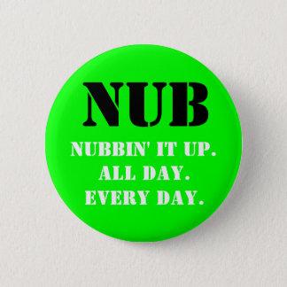 Badge Rond 5 Cm POINTE, Nubbin il.  , Toute la journée., E… -