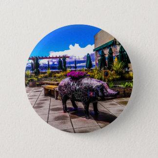 Badge Rond 5 Cm Porc de tableau