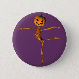 Badge Rond 5 Cm Position de ballet d'arabesque
