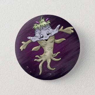 Badge Rond 5 Cm Pouce ÉTRANGER MIGNON de ¼ du BOUTON 2 de ZALLY