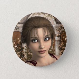 Badge Rond 5 Cm Pour tomber dans le bouton d'amour