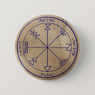 Badge Rond 5 Cm Premier pentagramme de Jupiter