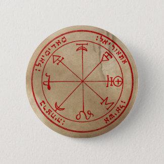 Badge Rond 5 Cm Premier pentagramme de Mars