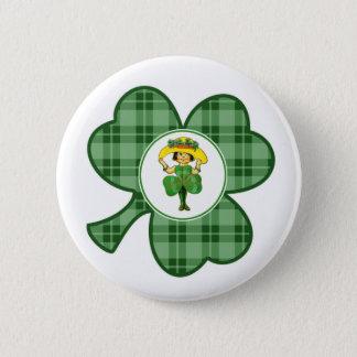 Badge Rond 5 Cm Princesse irlandaise. Boutons de cadeau du jour de