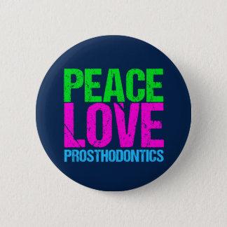 Badge Rond 5 Cm Prothèse d'amour de paix