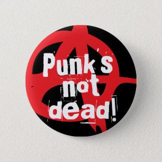 Badge Rond 5 Cm Punk non mort !