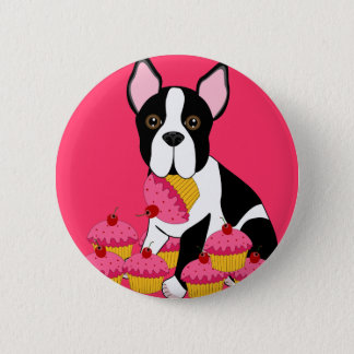 Badge Rond 5 Cm Pupcakes