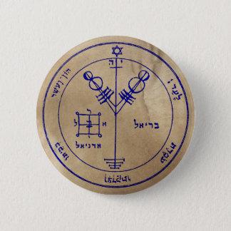 Badge Rond 5 Cm Quatrième pentagramme de Jupiter