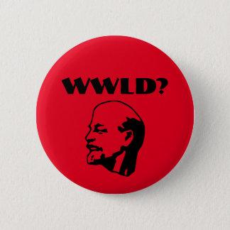 Badge Rond 5 Cm Que Lénine ferait-il ? bouton