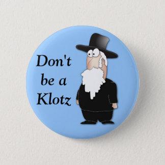 Badge Rond 5 Cm Rabbin juif drôle - bande dessinée fraîche