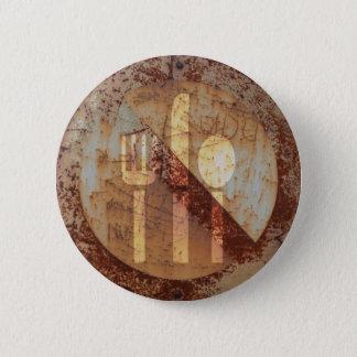 Badge Rond 5 Cm Rammadan aucun bouton musulman de consommation