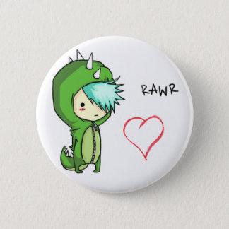 Badge Rond 5 Cm Rawr veut dire l'amour