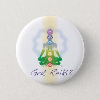 Badge Rond 5 Cm Reiki obtenu ?
