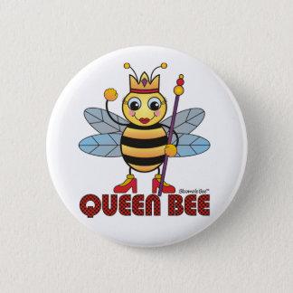 Badge Rond 5 Cm Reine des abeilles