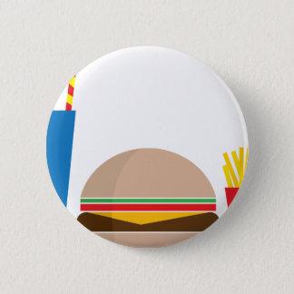 Badge Rond 5 Cm repas de rapide