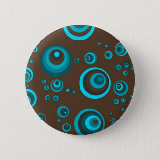 Badge Rond 5 Cm Rétros points