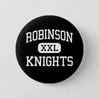 Badge Rond 5 Cm Robinson - chevaliers - lycée - Tampa la Floride