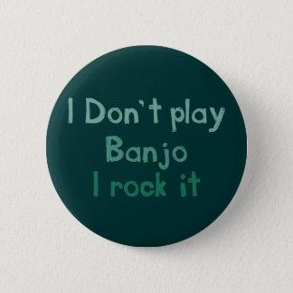 Badge Rond 5 Cm Roche de banjo il bouton