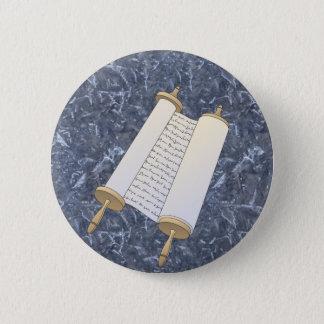 Badge Rond 5 Cm Rouleau juif