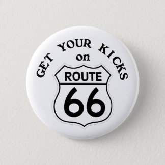 Badge Rond 5 Cm route66