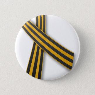 Badge Rond 5 Cm Ruban de St George