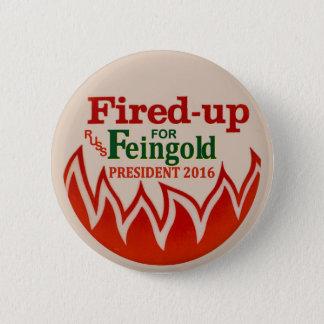 Badge Rond 5 Cm Russ Feingold pour le président 2016