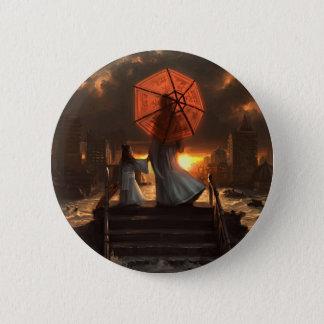 Badge Rond 5 Cm Sa silhouette silencieuse