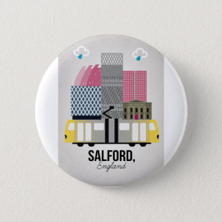 Badge Rond 5 Cm Salford