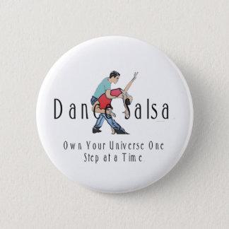 Badge Rond 5 Cm Salsa SUPÉRIEUR de danse