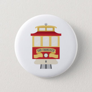 Badge Rond 5 Cm San Francisco