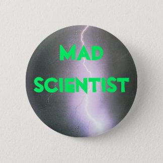 Badge Rond 5 Cm scientifique fou