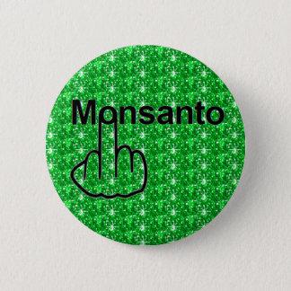 Badge Rond 5 Cm Secousse de Monsanto de bouton