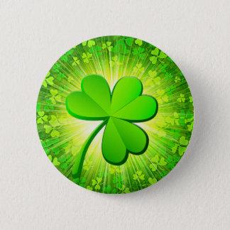 Badge Rond 5 Cm Shamrock magique