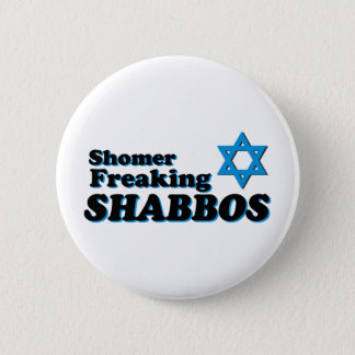 Badge Rond 5 Cm Shomer Freaking Shabbos