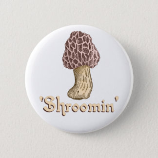 Badge Rond 5 Cm Shroomin