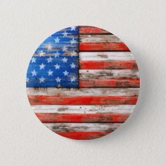 Badge Rond 5 Cm Simplement américain