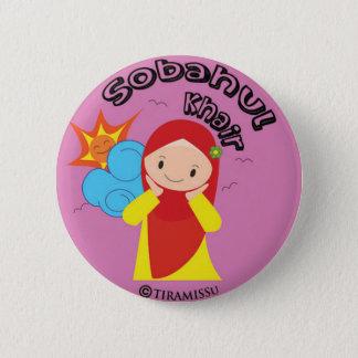 Badge Rond 5 Cm Sobahul Khair