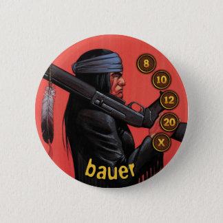 Badge Rond 5 Cm Soldats d'hommes de bouton : Bauer