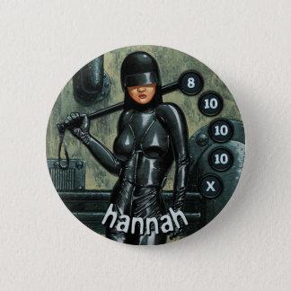 Badge Rond 5 Cm Soldats d'hommes de bouton : Hannah