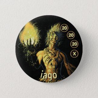 Badge Rond 5 Cm Soldats d'hommes de bouton : Iago