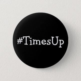 Badge Rond 5 Cm Solidarité de #TimesUp contre l'abus et le