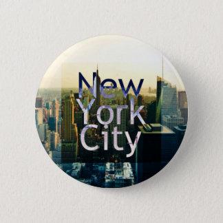 Badge Rond 5 Cm Souvenir de New York City