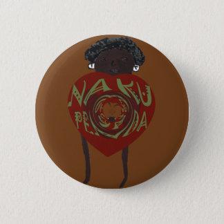 Badge Rond 5 Cm Sovahéli A de Hakuna Matata je t'aime Nakupenda
