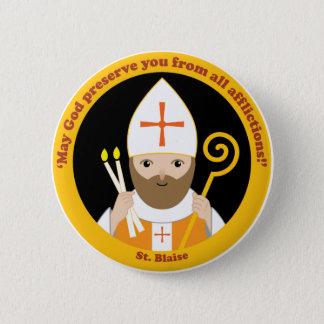 Badge Rond 5 Cm St Blaise