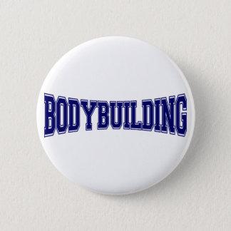 Badge Rond 5 Cm Style d'université de culturisme